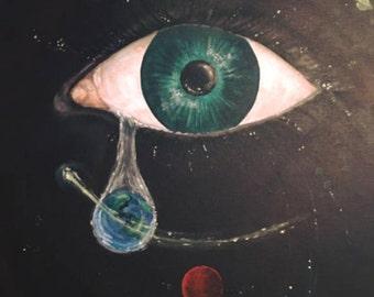 Acrylic, canvas, original