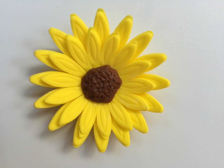 Edible Flowers 12pcs 25 Fondant Flowers Gerbera Daisy