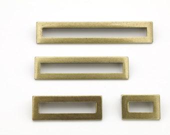 "Brass Drawer Pull -""Linea"" in Antique Brass Drawer Handles - Brass Drawer Pull - Cabinet Pull"