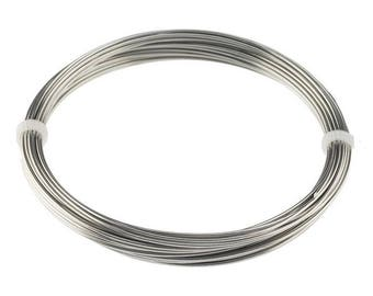 10 Feet 10 Gauge 2.5 MM Pure Stainless Steel Zinc Free Wire- JEWELRY- CRAFTS