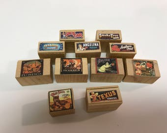 Wooden Crates for the Dollhouse