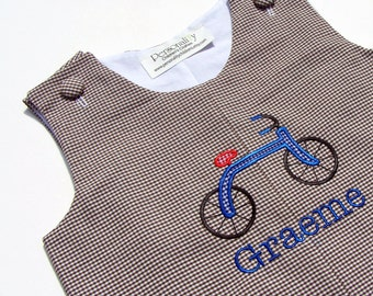 Bicycle Jon Jon or Jumper with Monogram