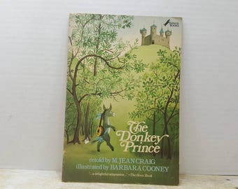 The Donkey Prince, 1977, Jean Craig, Barbara Cooney, vintage kids book