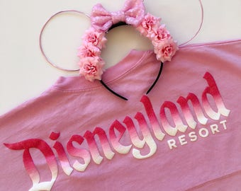 Millenial Pink Ears | Baby Pink | Pastel | Wire Ears | Mouse Ears
