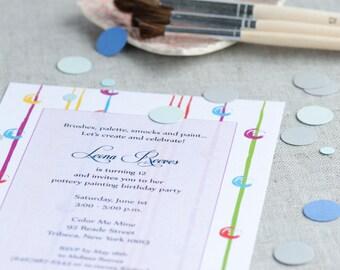 Birthday Party Invitations - Tween Birthday Invites