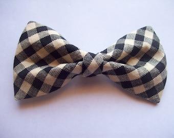 Men's Checker Bow tie | Tie | Wedding | Nerd | Geek | Black tie