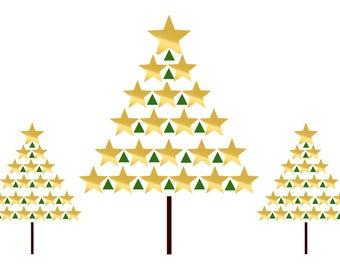 Gold Star Tree