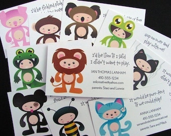 50 Little Friends Playdate Cards (ASSORTED)