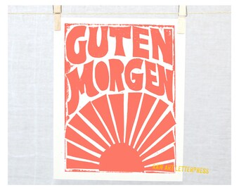 Guten Morgen  Etsy Home and Living, German Language