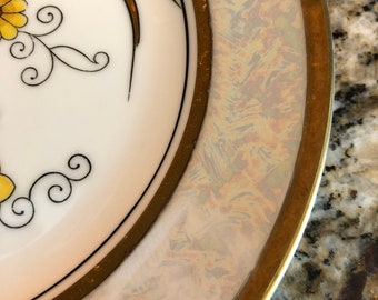 Noritake Lustreware Plates - Set of 4