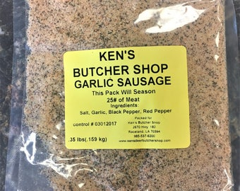 Ken's Garlic Sausage Seasoning