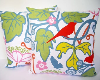 Scandinavian fabric cushion cover 18x18 - Kvitter