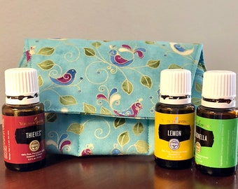 Trendy Essential Oil Pouch /oil bag /essential oil bag /oil pouch/oil storage for purse