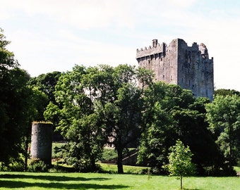 Blarney Castle, Irish Photography, Ireland Landscape, Cork Photo, Irish Decor Vintage Landscape, Castle Photography Wall Decor, Office Decor