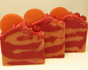 Hand Crafted Orange and Tangerine Soap