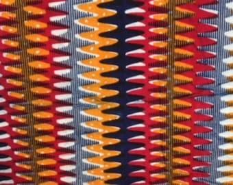 Multicolored Real Wax Ankara Head wrap