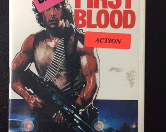 First Blood Beta Tape - Stallone Action Movie