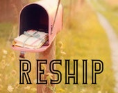 Reship a package to new address