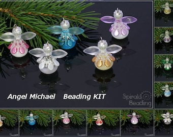 Angel Michael Beading Kit - 1 pc - KIT ONLY without tutorial!