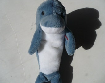 Baby Shower Gift, Stuffed Animals, Dolphin, Soft Toy, Baby Gift, Ty Beanie Babies, Plushie, Nautical Nursery Decor, Beach House Decor