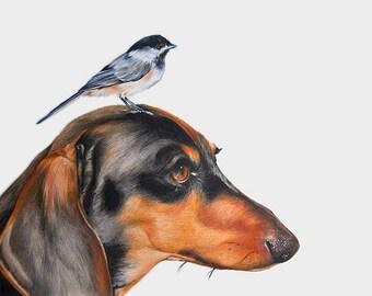 CUSTOM ANIMAL PORTRAIT - custom portrait - custom portraits - commission art