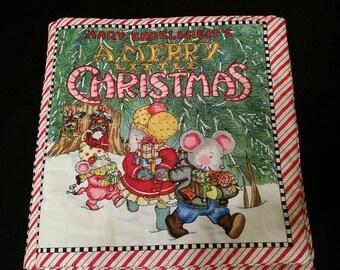 Christmas Fabric Book