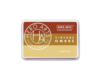 Hero Arts Ombre Vintage Metallic Rust Ink Pad AF346