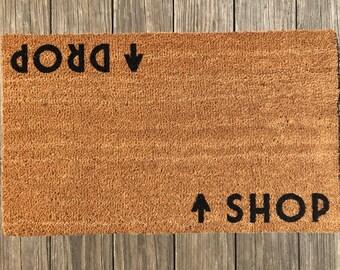 Shop / Drop™ Door Mat (doormat) – Shopaholic