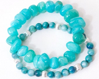 "7.25"" Stretch Bracelet Set 