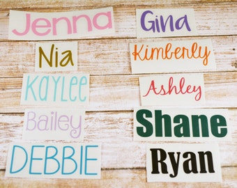 Name Decal   Personalized Name Decal   Yeti Decal   Car Decal   Yeti Name Decal   Personalized Name Decal   Phone Decal   Name Sticker  