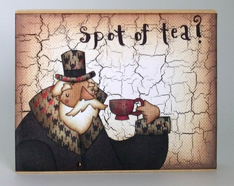 Spot of Tea? Mini Artist Block