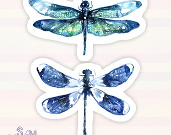 Dragonfly Wings vinyl sticker