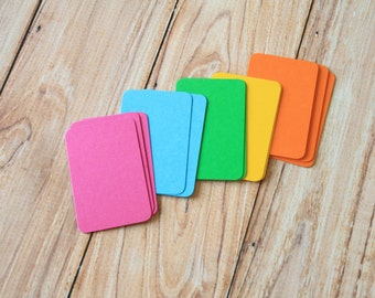 50pc VIBRANT Colours Eco Series Business Card Blanks
