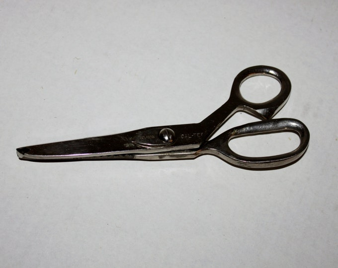 Vintage Cal-Tep Pinking Shears 7 3/4""