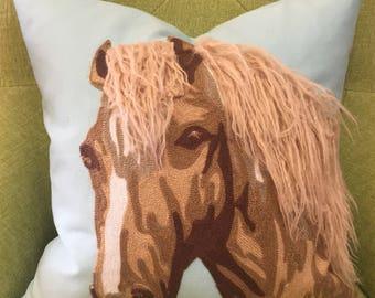 Horse Pillow - Decor Pillow - Throw Pillow - Accent Pillow
