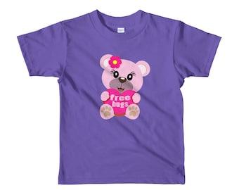 Free Hugs Teddy Bear Toddler t-shirt