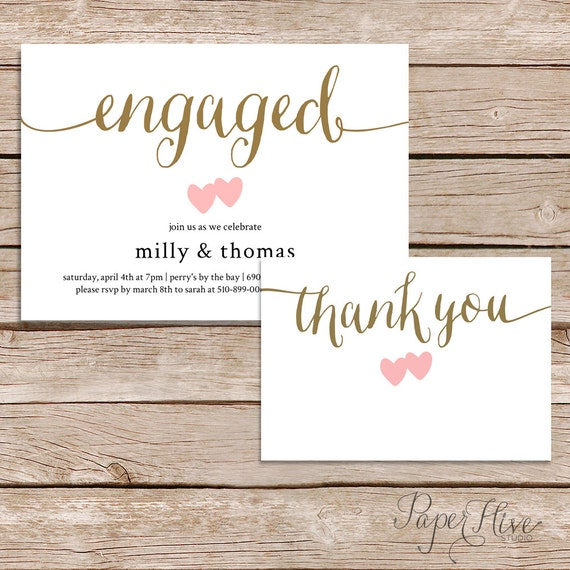engagement thank you cards hola klonec co