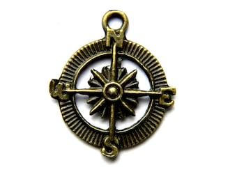 6 Bronze Compass