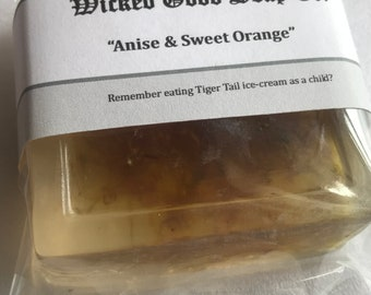Anise & Sweet Orange Honey Soap