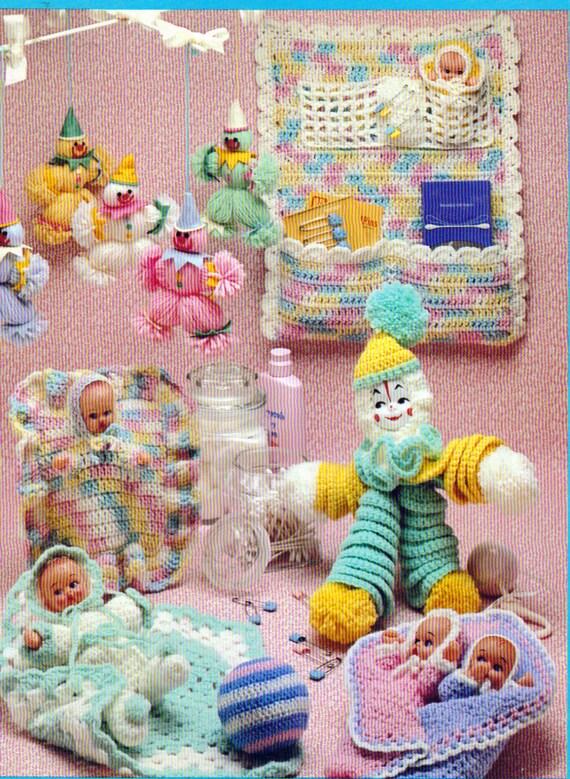 Toyland de ganchillo, Crochet juguetes y los patrones de vivero ...