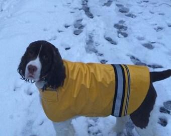 Large Dog Rain Coat - Pick your color, Dog Rainjacket, Dog Rain Jacket, Dog Coat, Dog Jacket, Dog Jackets