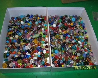 Asstd Fancy Beads,500 shapes and sizes
