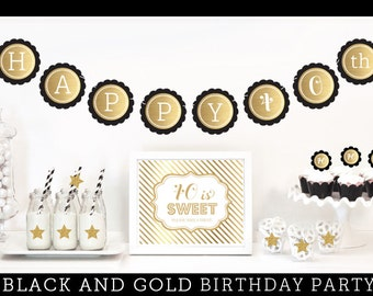 40th Birthday Party Decorations - 40th Birthday Decorations - 40th Anniversary Party Decorations - 40th Wedding Anniversary Party (EB4011BY)