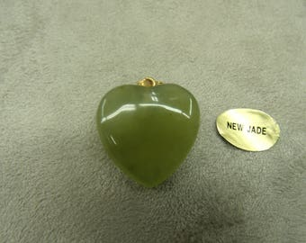 PENDANT pattern heart - PM - new jade