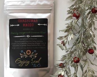 Christmas Magic - Christmas Tea- Caffeine free tea- rooibos tea- Gypsy Soul Tea Co.