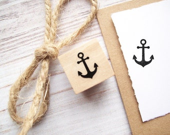 Anchor Rubber Stamp Mini