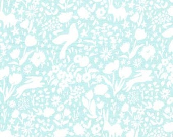 SOMMER by Sarah Jane for Michael Miller Fabrics in Garden Shadow - Breeze