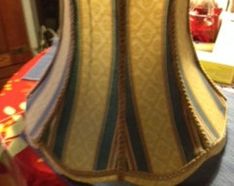 Vintage Fabric Lampshades for a large table lamp or standard lamp