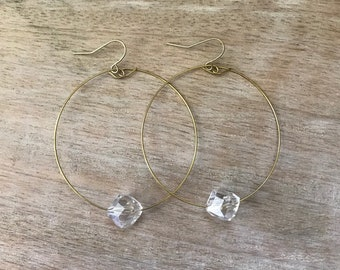 Single Stone Earrings