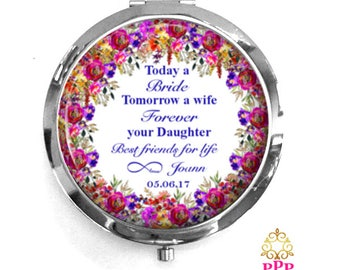 Mother of the Bride Compact Purse Mirror | Today a Bride | Style 772